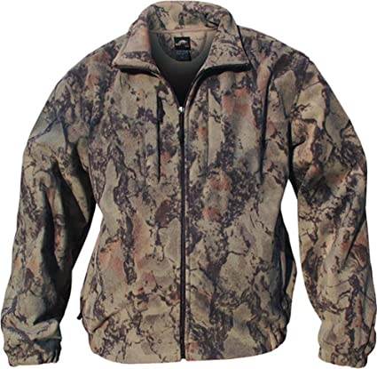 3c303304657d3 Amazon.com : Natural Gear 163-NATURAL-L Men's Full Zip Fleece Jacket Natural  Large : Camouflage Hunting Apparel : Sports & Outdoors