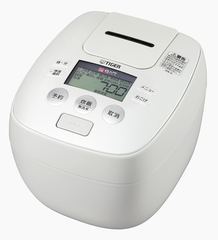 タイガー 炊飯器 5.5合 圧力 IH アーバンホワイト 炊きたて 炊飯 ジャー JPB-H102-WU Tiger  ホワイト B01MAYHWVT