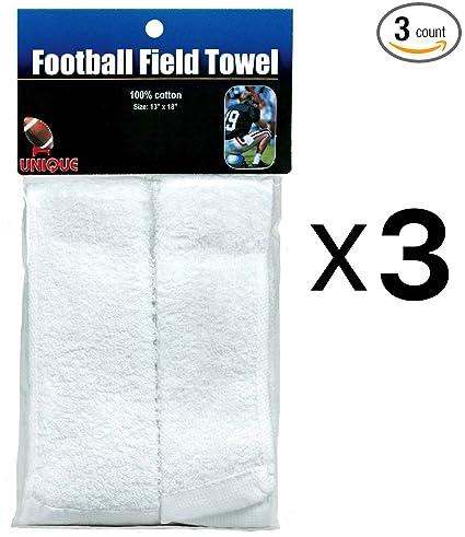 Amazon.com: Toalla de campo de fútbol con cierre FFT-1 (3 ...