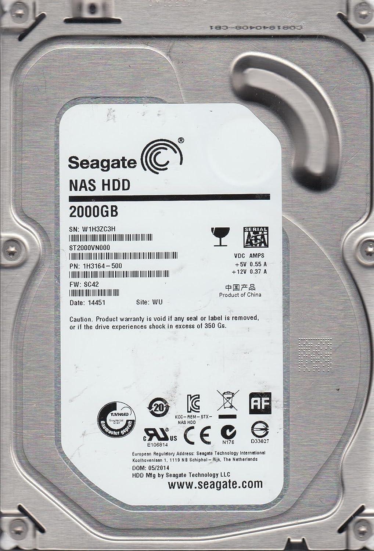 Seagate St2000vn000 2 Tb 35 Inch Internal Hard Drive Hardisk Pc 500gb Sata 5900 Rpm 64 Mb Buffer Computers Accessories