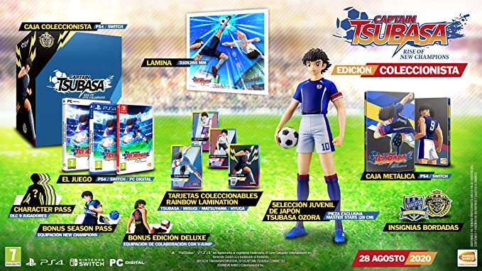 Oferta amazon: Captain Tsubasa: Rise Of New Champions - Collector Edition
