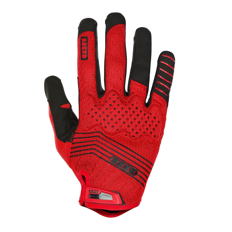 Ion Ledge MX DH FR Fahrrad Handschuhe lang rot schwarz 2018  Größe  XS