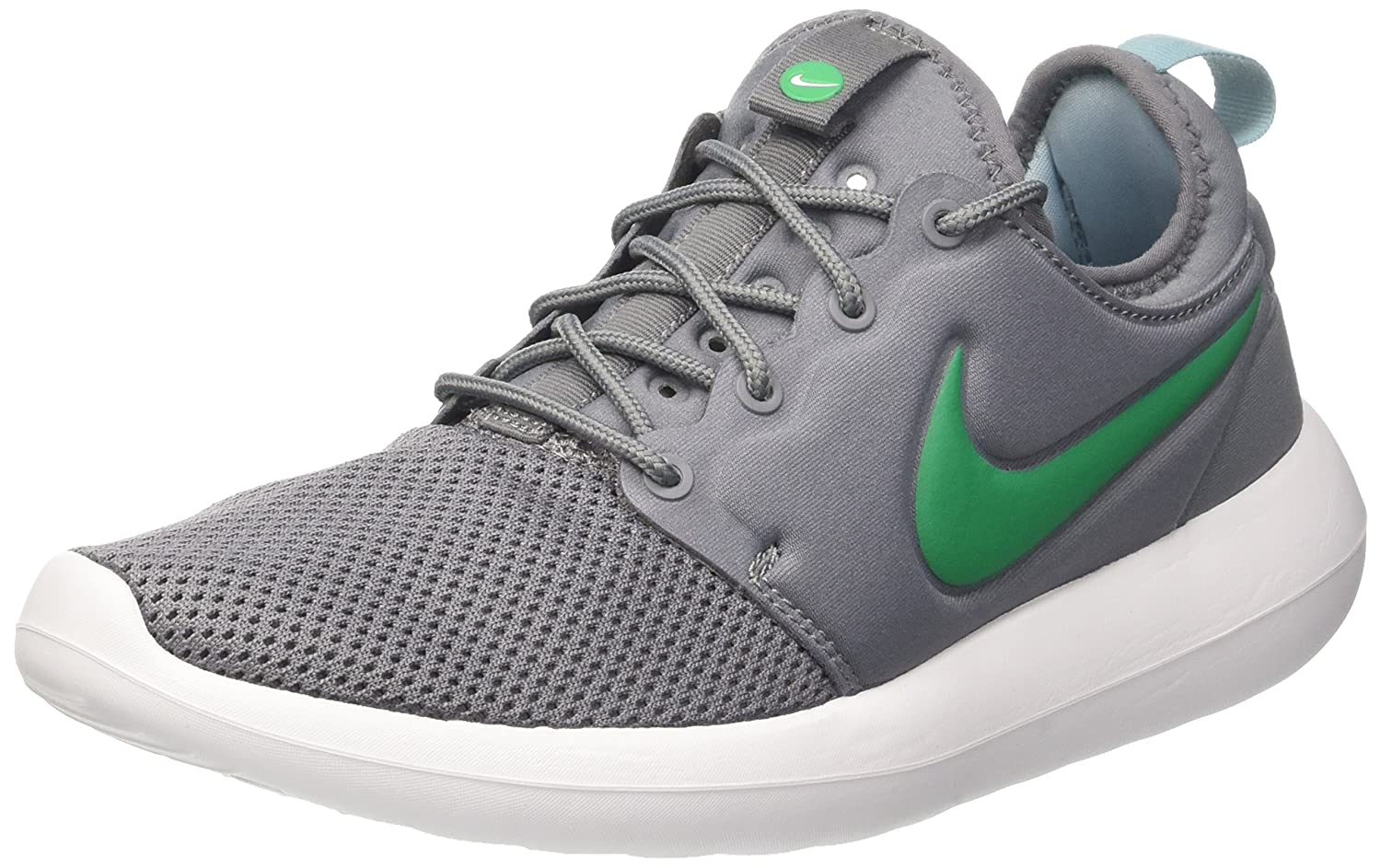 NIKE Men's Roshe Two Running Shoe B06XXYZJ9V 7|Cool Grey/Stadium Green