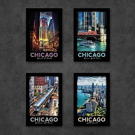 Set of 24 Chicago 4 x 6 Postcards