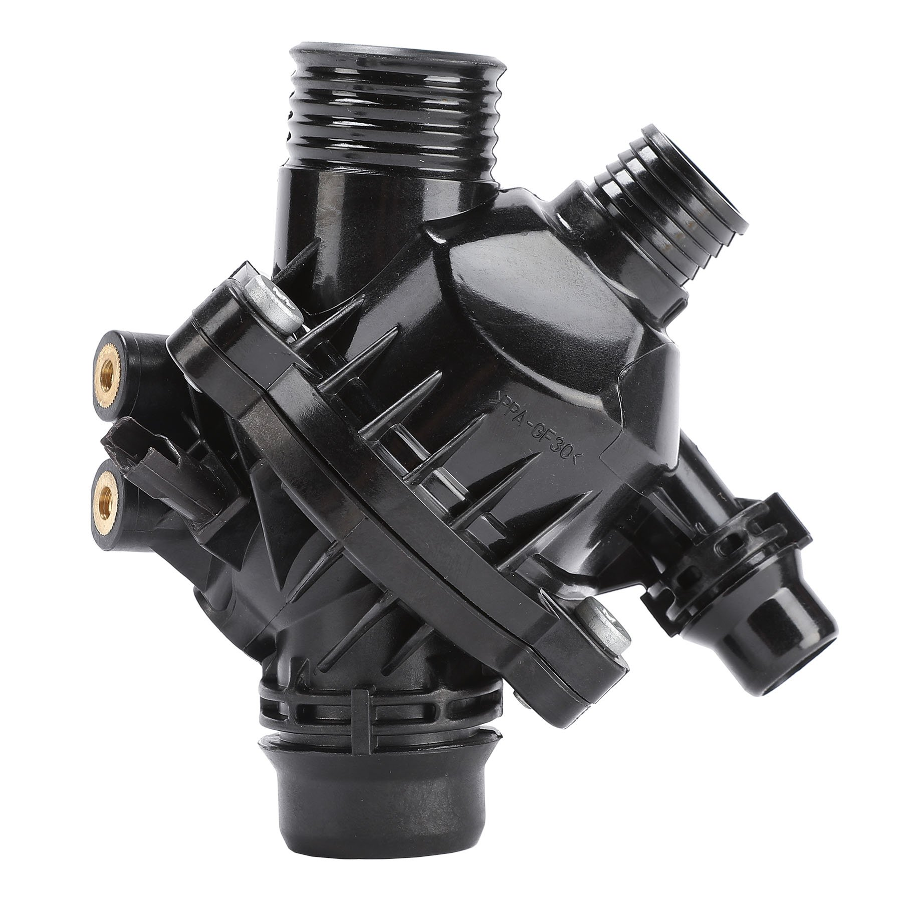 Orion Motor Tech Engine Coolant Thermostat W/Housing Assembly Replacement with BMW Part 11537536655, 11537549476 11537544788, 1430826, 256201, 256202, 41008697D0 by OrionMotorTech