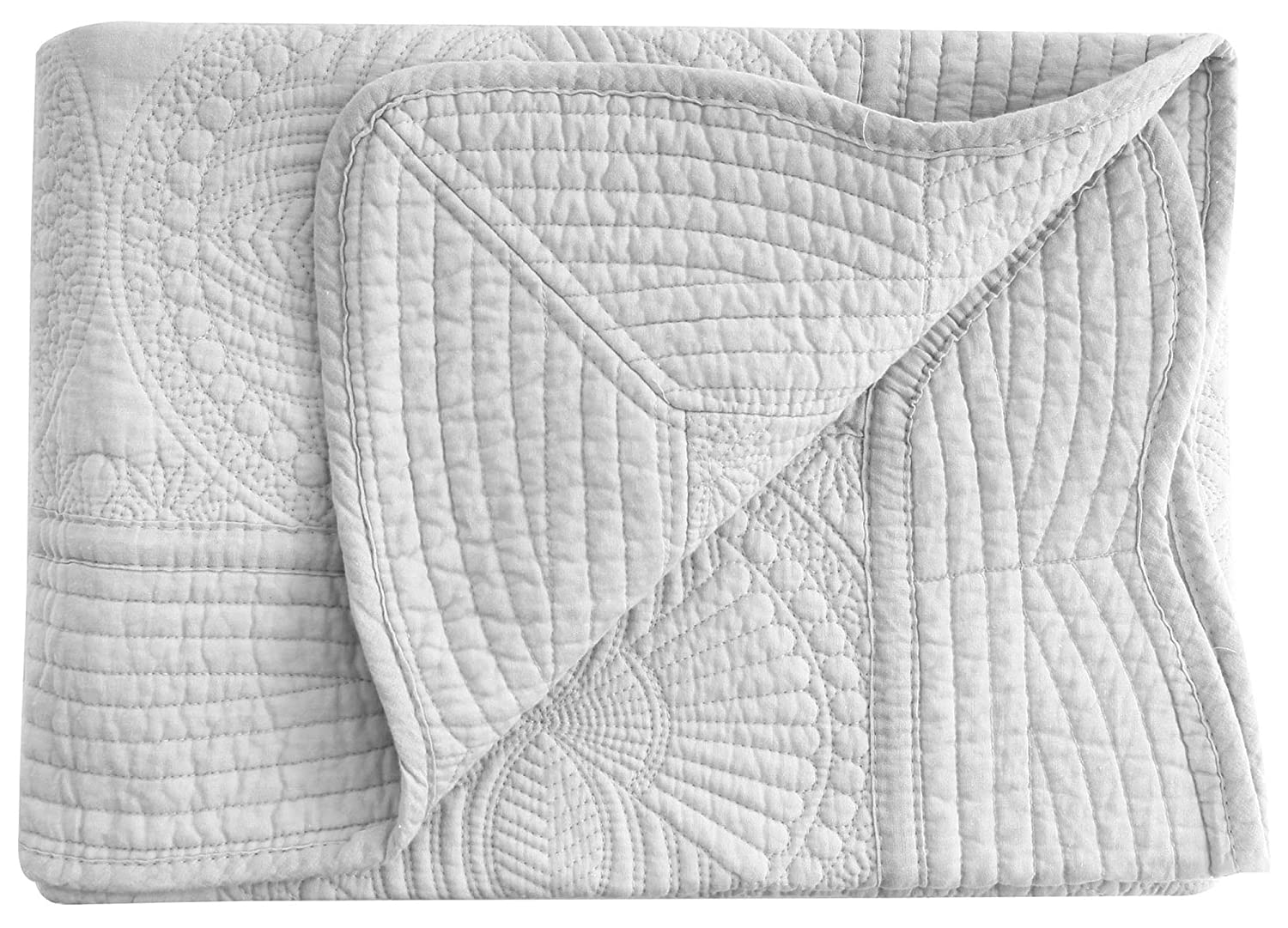 Lightweight All Weather Embossed Detail Cotton Quilt For Babies and Toddlers AshopZ