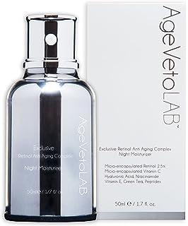 Crema de antienvejecimiento, retinol encapsulado, uso de noche, hidratante, complejo exclusivo con