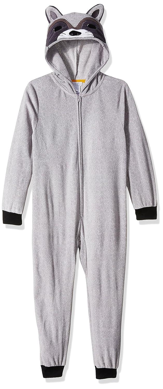 4d0e32e231 Amazon.com  Komar Kids Boys Raccoon Hooded Blanket Sleeper  Clothing