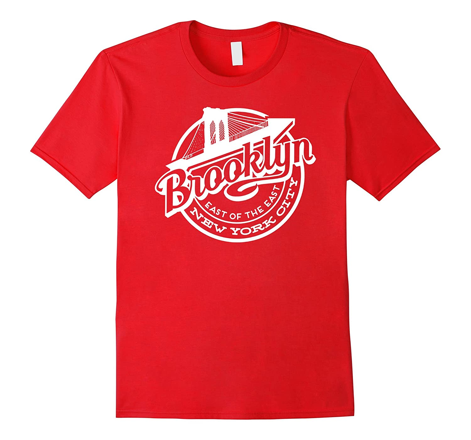 New York t-shirt Brooklyn Bridge t-shirt-Art