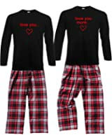 Footsteps Clothing Love You & Love You More His and Hers Pajamas - Each Sold Separately