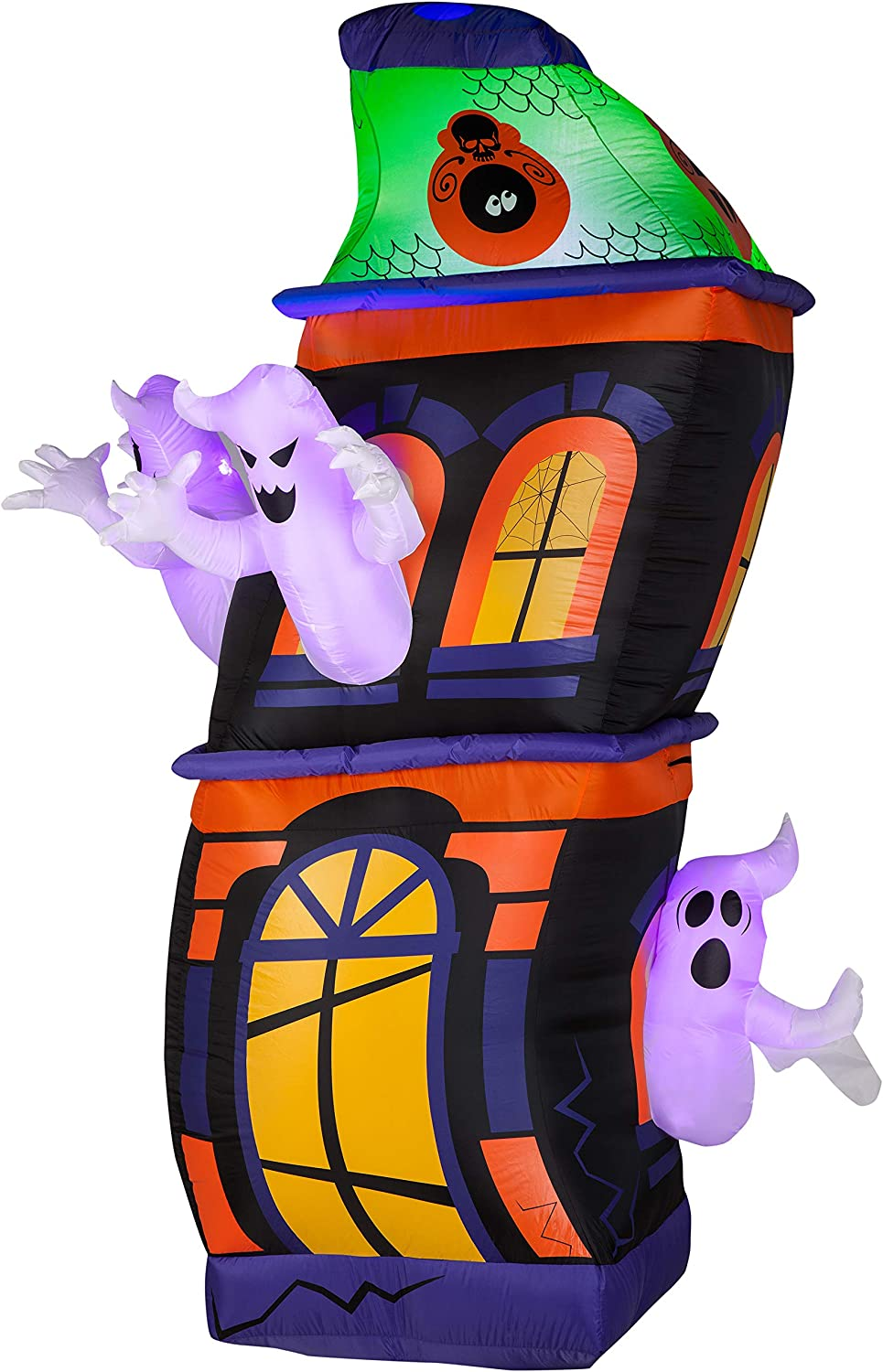 Ghost in a Haunted House Outdoor Inflatables