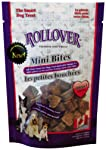 Rollover OMEGA 3 Enriched Mini Bites For Dogs 100 gm (Packaging may vary)