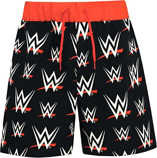 WWE Boys World Wrestling Entertainment Swim Shorts Ages 5 to 13 Years