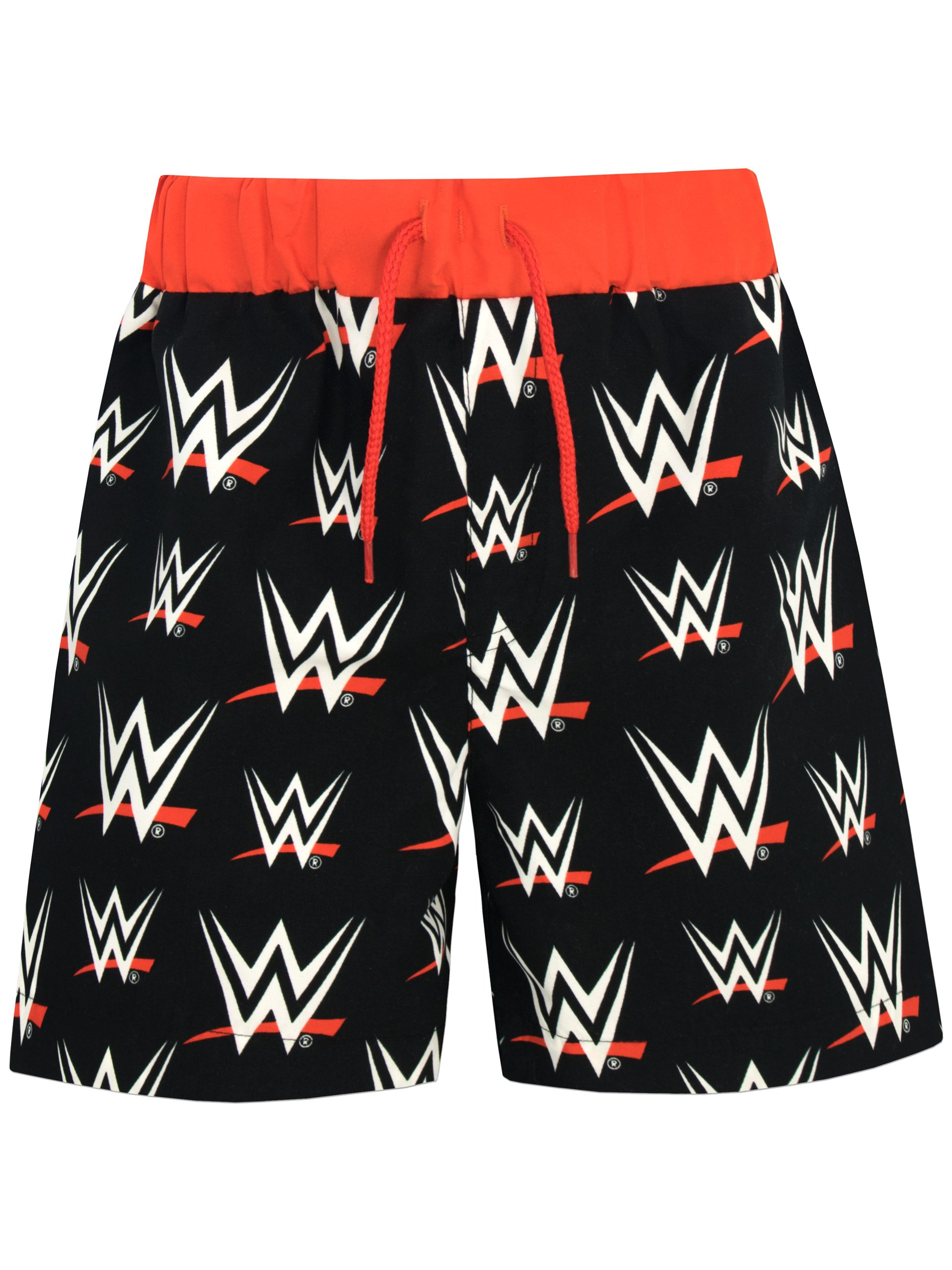 WWE Boys' World Wrestling Entertainment Shorts Black Size 7 by WWE
