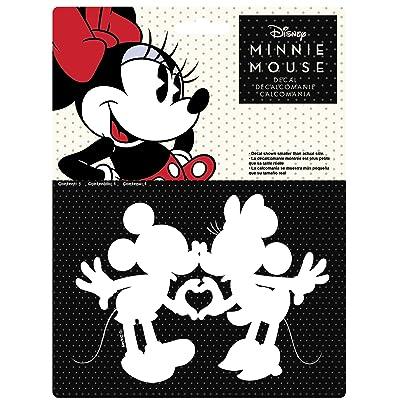 Chroma 40025 Mickey & Minnie Kissing Die Cut Decal: Automotive