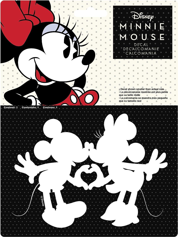 Chroma 40025 Mickey /& Minnie Kissing Die Cut Decal