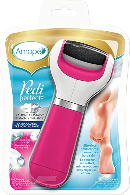 Amope Pedi Perfect Electronic Foot File and Callus Remover