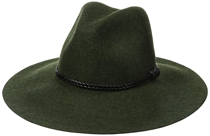 a9205bda04b Amazon.com  San Diego Hat Company Women s Floppy Hat with Pinch Crown and Double  Wrapped Faux Leaher Band