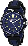 Sector Men's Watch R3251197035 In Collection Expander 90 with 3 H and S, Blue Dial and Blue Black Strap