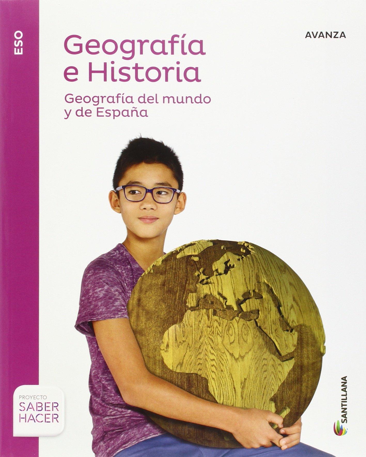 GEOGRAFIA E HISTORIA AVANZA 3 ESO SABER HACER - 9788414103111: Amazon.es: Vv.Aa.: Libros