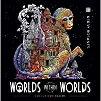 Worlds Within Worlds: Colour New Realms (Colouring Book): Colour and Discover New Realms