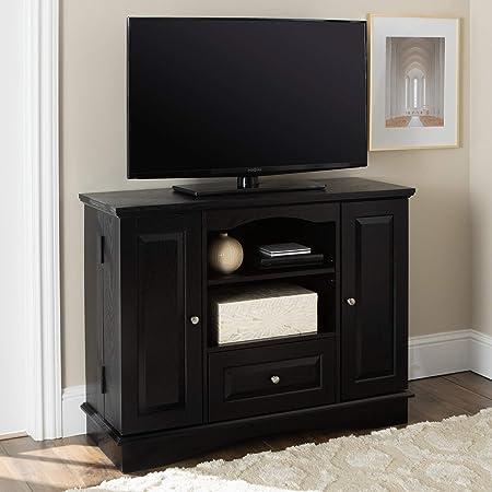 Walker Edison aplanadora de Dormitorio TV Consola con Medios de comunicación de Almacenamiento: Amazon.es: Hogar