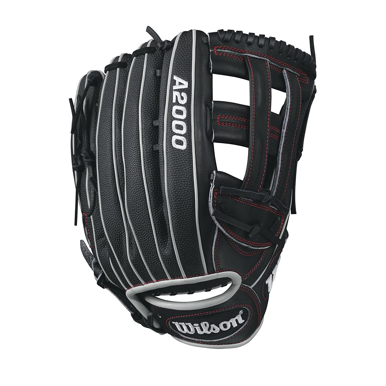 amazon com wilson a2000 1799 superskin baseball glove black