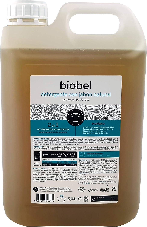 Detergente biodegradable Biobel