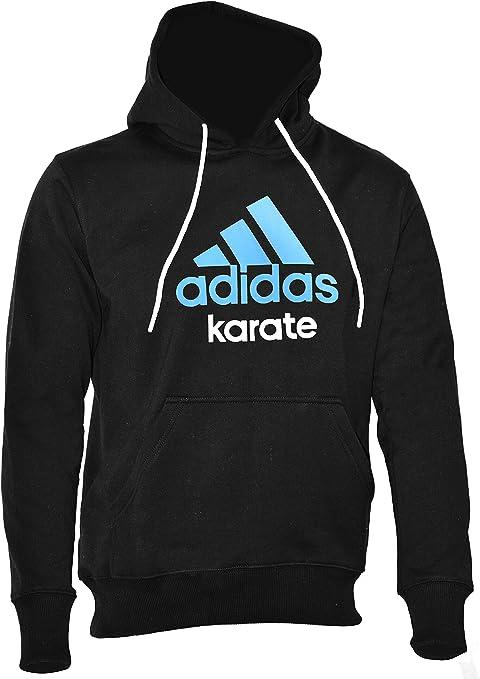 Sede Hamburguesa Escarpado  adidas Karate Sudadera con Capucha para Hombre, Negro y Azul, Small:  Amazon.es: Deportes y aire libre