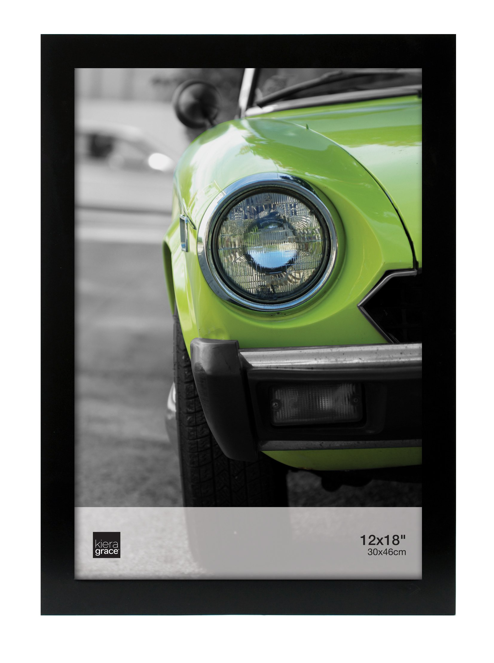 kieragrace Langford Wood Poster or Picture Frame, 12 by 18-Inch, Black