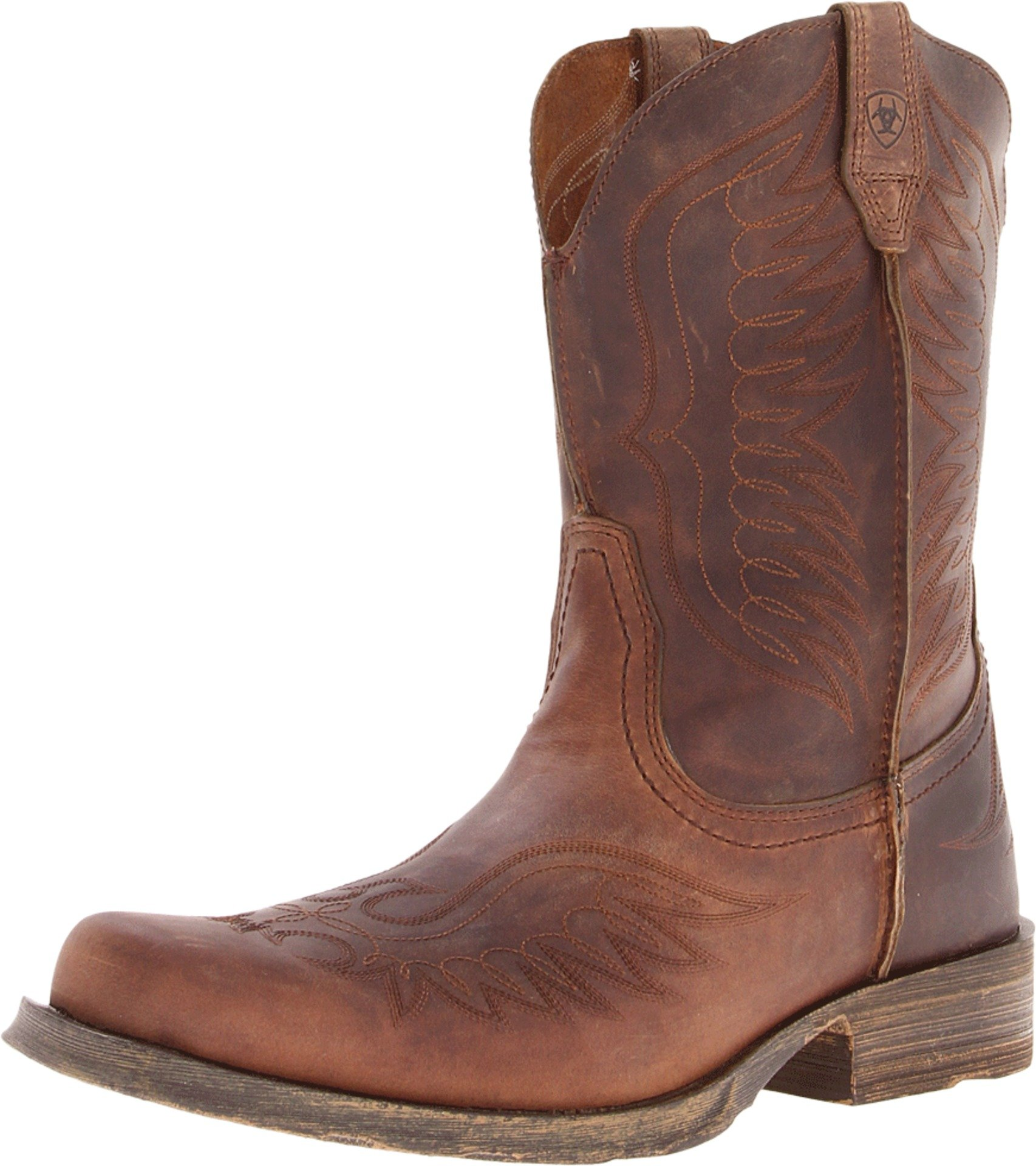 Ariat Men's Rambler Phoenix Western Cowboy Boot Distressed ...