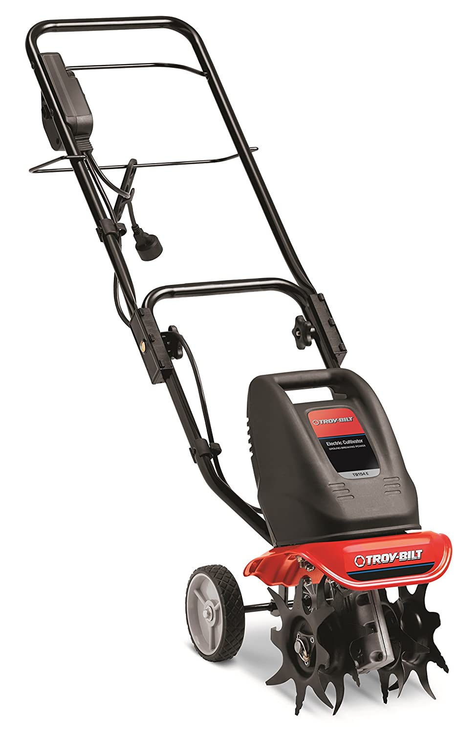 electric garden tiller. Amazon.com : Troy-Bilt TB154E 6 Amp Electric Garden Cultivator Power Tillers \u0026 Outdoor Tiller