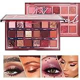Fashion Matte Eyeshadow Palette Nude eye Makeup Glitter Pigment Smoky Eye Shadow Powder Waterproof Cosmetic 18 Colors