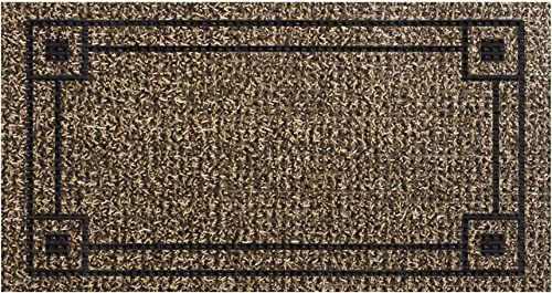 GrassWorx Clean Machine Metro Doormat, 18 x 30 , Sandbar 10374042