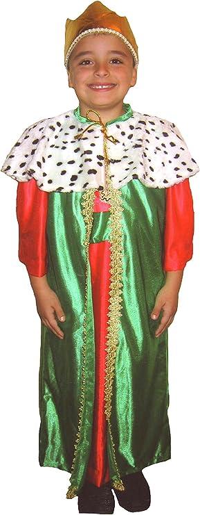 EL CARNAVAL Disfraz Rey Melchor Talla S (4-6años) - Rey Mago ...