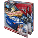 Adventskalender Fabulous Lightning McQueen von Revell Junior Kit - Disney Cars 3 - 24 Tage cooler Bastelspaß für Kinder ab 4 Jahren, Bausatz zum Schrauben, Basteln und Spielen, robust - 01012