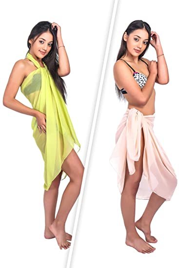 9c4e119e59f05 Ramanta Home Womens Beach Cover up Sarong - Swimsuit Wrap Bikini Cover Up  Pareo -2