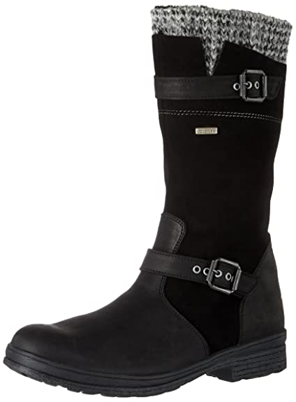 Womens Alia Boots, Denver Schwarz Däumling