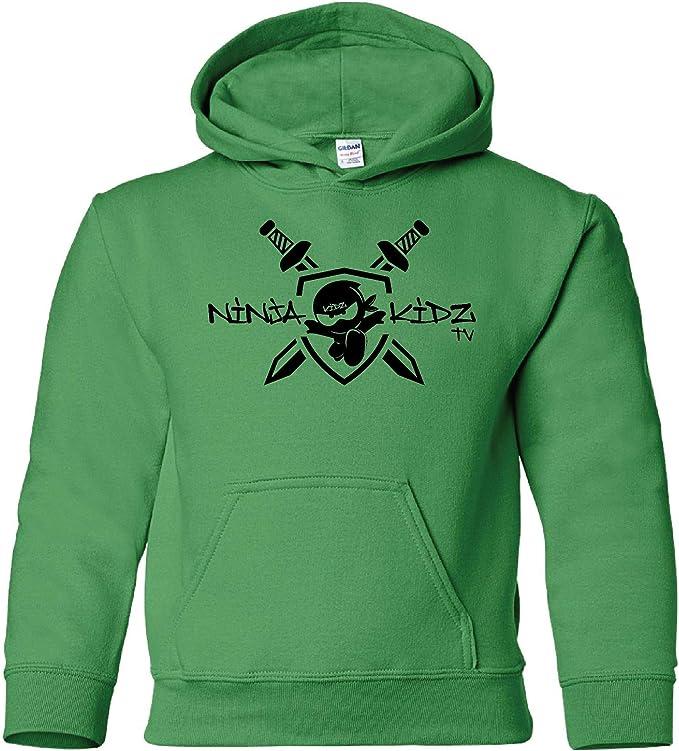 Amazon.com: Ninja Kidz Ninja - Sudadera con capucha para ...
