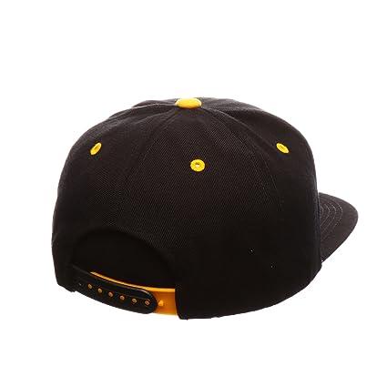 huge selection of 0e12c fb1ef Amazon.com   NCAA Iowa Hawkeyes Men s The Menace Snapback Hat, Adjustable,  Black   Sports   Outdoors