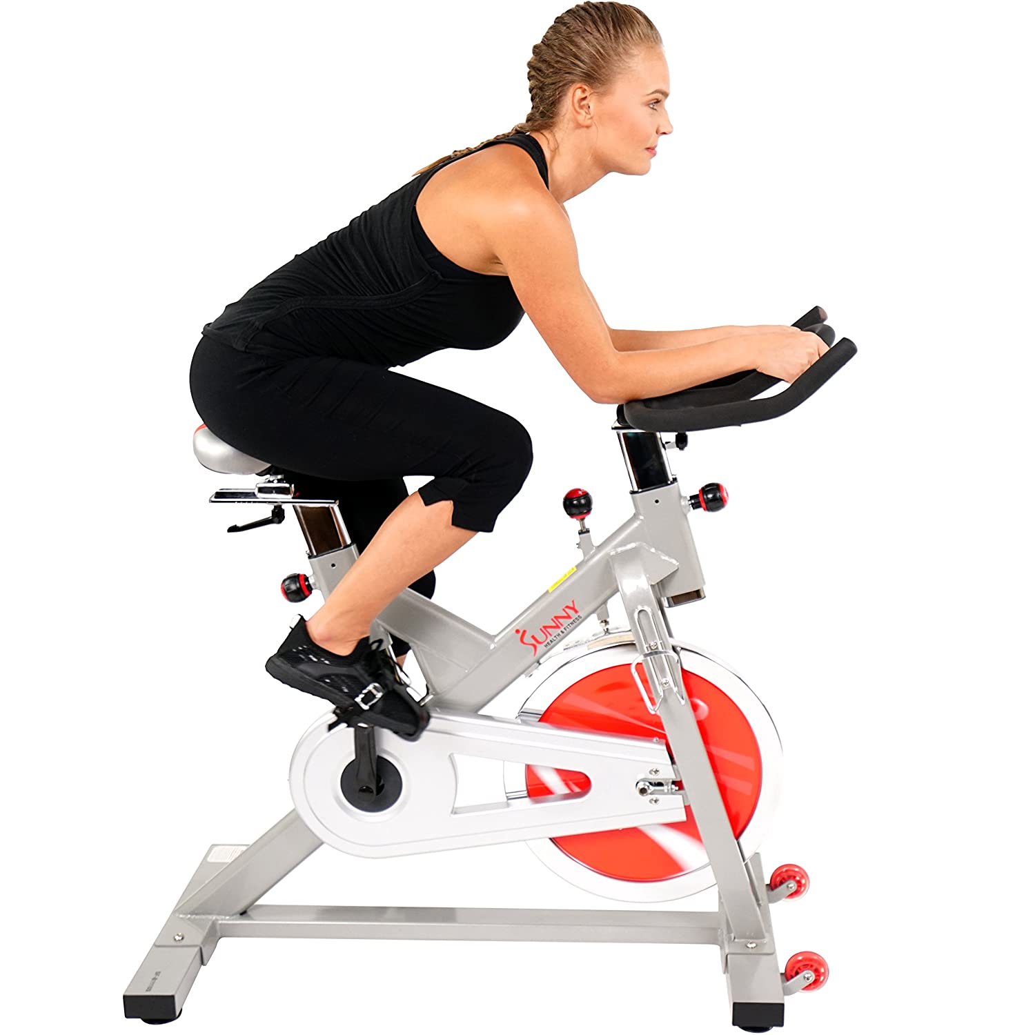Sunny Health and Fitness SF-B111O Upright Bike