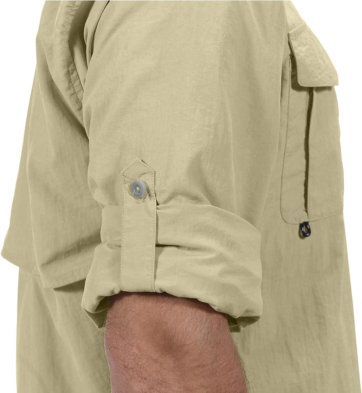 Langarm-Angelhemd Herrenhemd Little Donkey Andy UV-Schutzfaktor 50 Sonneschutzhemd atmungsaktiv und schnell trocknend