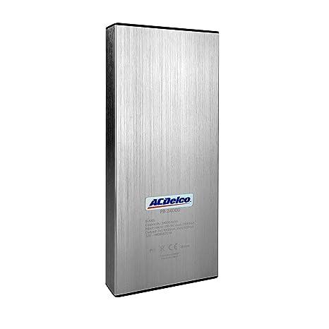 ACDelco Powerpack 24000 mAh cargador de batería portátil externa para USB Powered dispositivos, incluyendo teléfonos