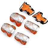 TXJ Un insieme di Sicurezza Bambini Gear Pad di Protezione (Gomito + Ginocchio + Wrist) per Roller Skate Bici Skateboard Sport Estremi