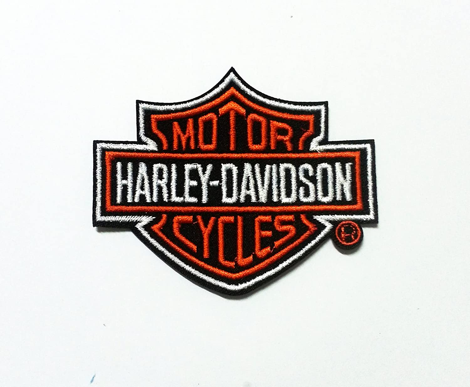 Patch Iron-On Harley-Davidson Logo Embroidered Applique Jacket