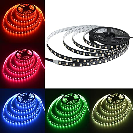 Amazon mokungit 5050 rgbw led strip light rgbwarm white2700k mokungit 5050 rgbw led strip light rgbwarm white2700k 4 colors in aloadofball Image collections