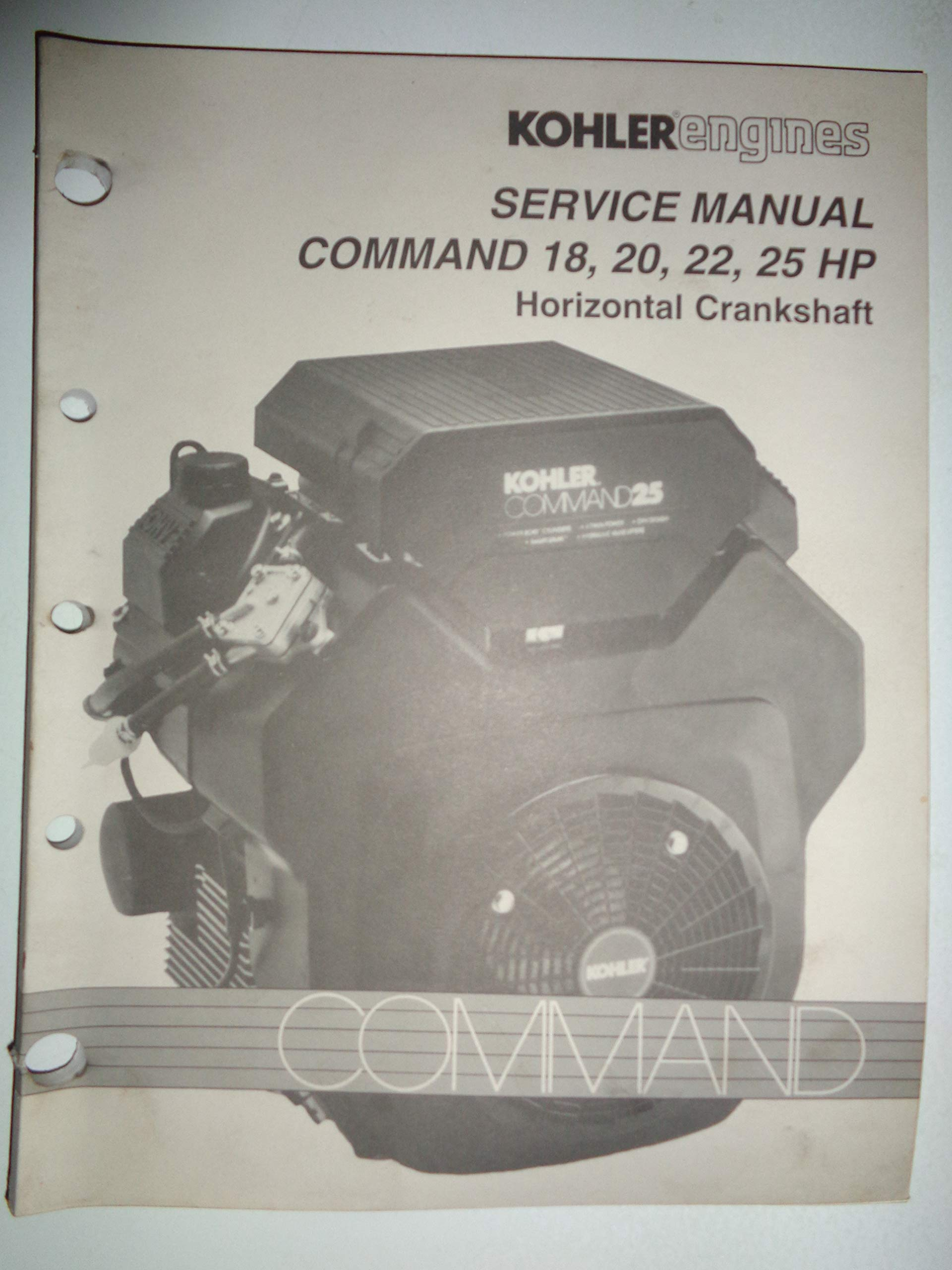 Kohler Command 18, 20, 22, 25 HP Horizontal Crankshaft