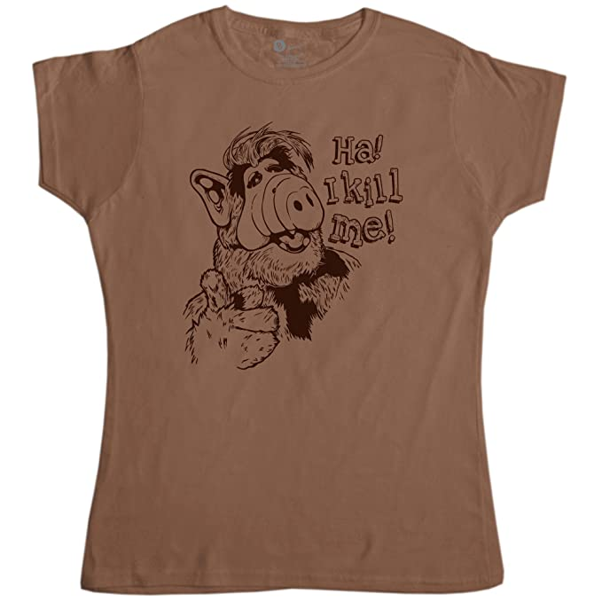 d01b51d1 Amazon.com: Womens T Shirt - I Kill Me - 8Ball Originals Tees: Clothing