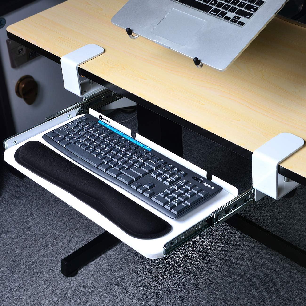 Glitz Star Ergonomics - Bandeja para teclado debajo de la ...
