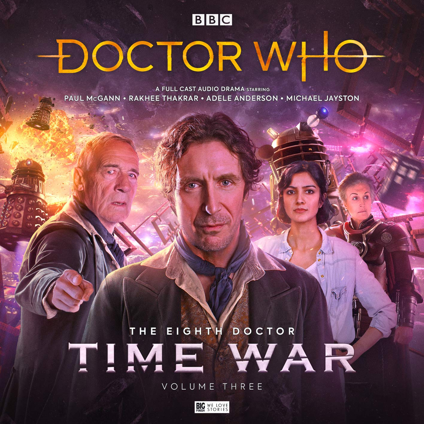 The Eighth Doctor: The Time War Series 3 (Doctor Who - The